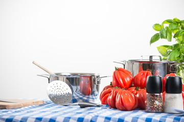 Tomato sauce preparation