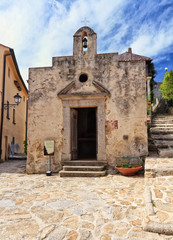 Isle of Elba - San Liborio chapel in Marciana