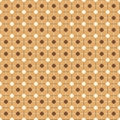 Autumn themed geometric Pattern