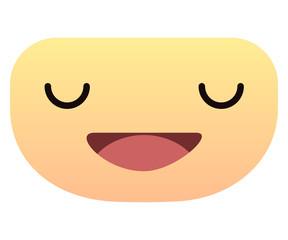 Cute smiley face