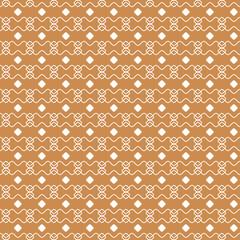 Autumn themed geometric Pattern