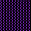 Halloween Seamless Dots Pattern Purple and Black