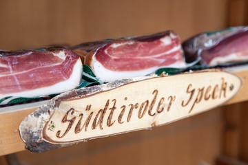 Sudtiroler bacon from Austria