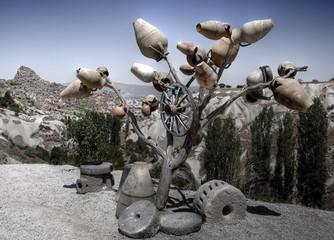 Jarras de cerámica Capadocia,Turquía