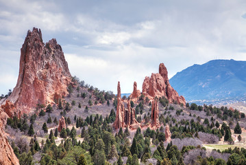 Garden of the Gods in Colorado Springs