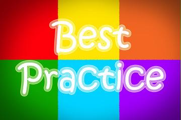Best Practice Concept