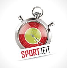 Stoppuhr - Sportzeit