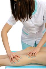 Nogi pacjentki