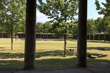 Anlage des Großen Palast in Pompeji