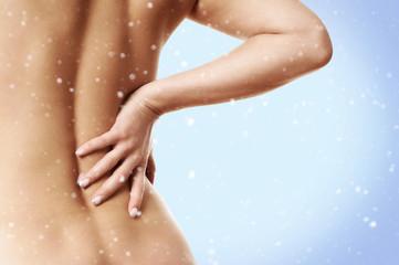 Rückenschmerzen im Winter