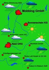 Betriebsklima als Wetterkarte dargestellt