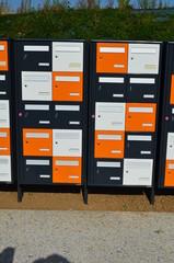 Alignement de boites aux lettres