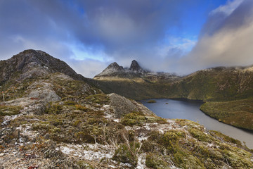 Tasmania Mt Cradle Top Snow