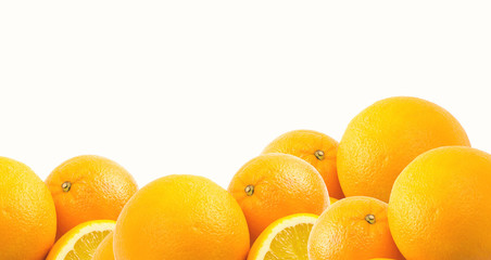 Two and half oranges