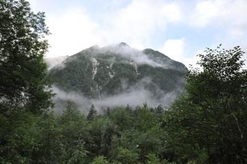 奥穂高岳 上高地 百名山