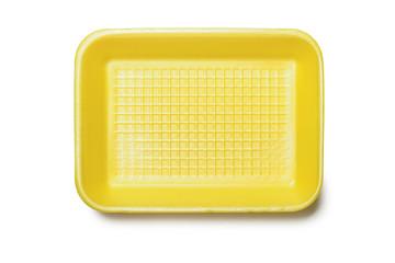 Yellow Foam Tray