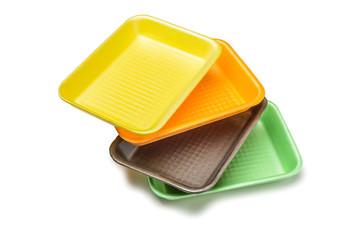 Four Foam Trays