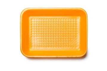 Orange Foam Tray