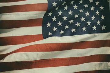 amerikanisches Flagge Retro-Stil