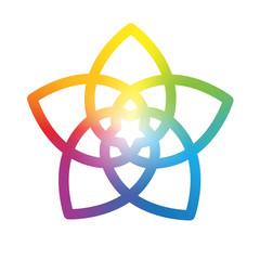 Flower of the Venus Rainbow White