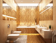 Bathroom gold