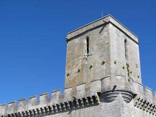 Charente-Maritime - Esnandes - Eglise St-Martin - Clocher