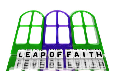 Grand leap of faith text message