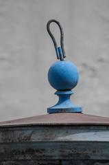 Hanger blue chess pawn