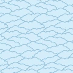 seamless pattern clouds