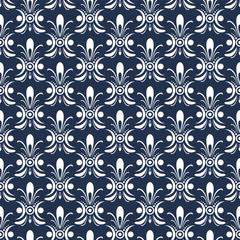 Blue Night Pattern 1