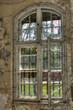 canvas print picture - Fenster Altbau