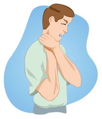 First aid, choking person