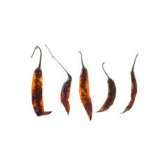 5 getrocknete Chilischoten