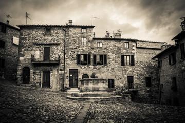 Borgo medievale Toscano