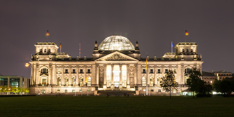 The Reichstag building is a historical edifice in Berlin