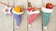 Geschenke und Leckereien zum Nikolaus im Landhausstil