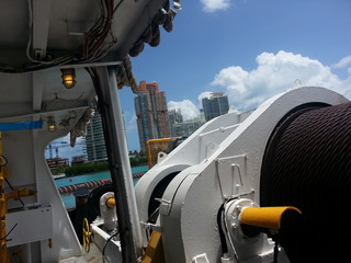 Miami harbor work