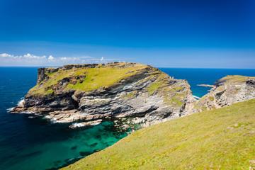 Tintagel Head Cornwall England