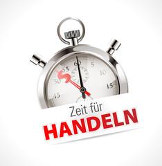 Stoppuhr - Zeit für Handlen