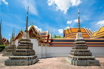 pagoda of thailand at Wat Pho