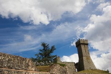 Castello di Radicofani in Toscana