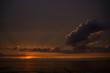 canvas print picture - Sonnenuntergang an der Ostsee