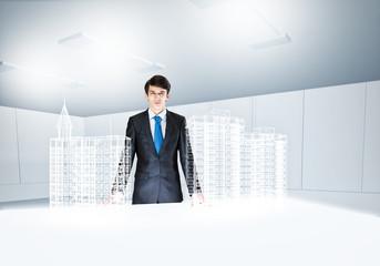 Man architect