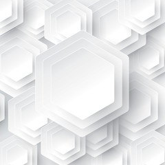 White geometry vector background.