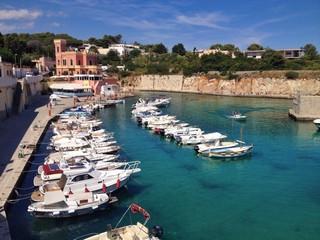 Tricase porto, Salento, Italy