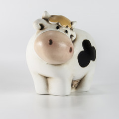 mucca triste
