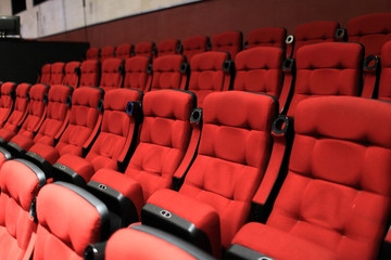 Red soft seats