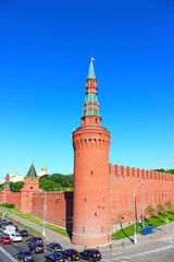 Beklemishevskaya Tower in the Moscow Kremlin