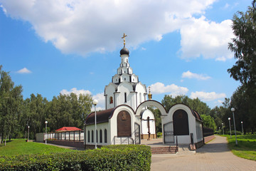 Church of the Icon of the Mother of God  Of the Perishing  in Mi