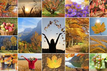 Collage - Herbstzeit